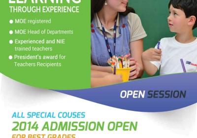 Flyer Design for a School